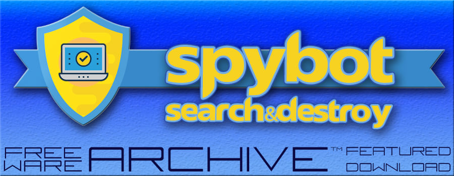 Spybot Header www.freeware-archive.com